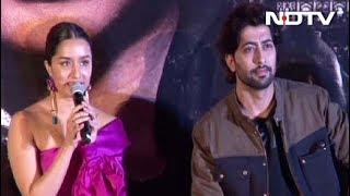 Shraddha Kapoor & Team Haseena Parkar At The Trailer Launch - NDTV