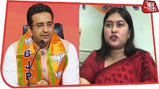 Watch: Fiery Debate Between Ragini Nayak And Gaurav Bhatia Over Congress' Telangana Manifesto - AAJTAKTV