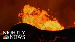 Lava Bomb Injures 23 People On Hawaii Tour Boat | NBC Nightly News - NBCNEWS