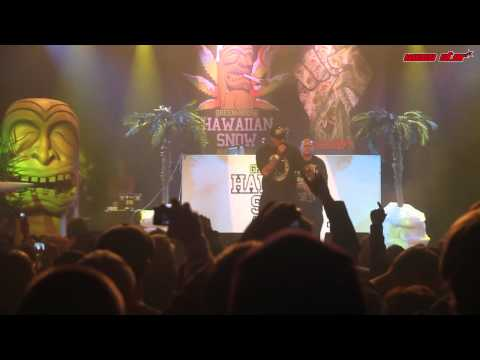 Ziggi Jackson @ Cannabis Cup 2011 with B-Real