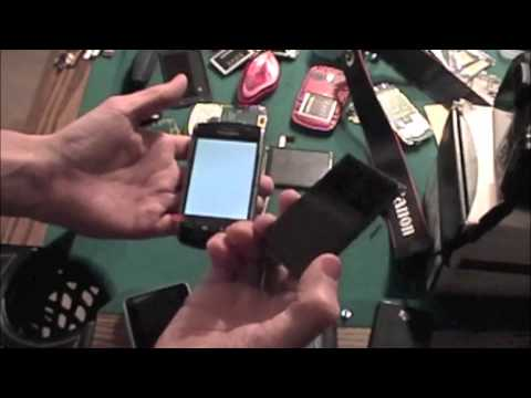 Blackberry storm LCD replacement fix cracked screen 9500 9530
