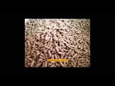 Fabricación de Pellets de Madera
