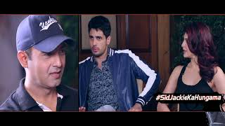 Check Out The SUPERB Interview TEASER Of Sidharth Malhotra & Jacqueline Fernandez | A Gentleman - HUNGAMA