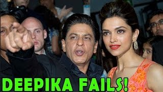 HAPPY NEW YEAR | Deepika FAILS to Match up to Shahrukh Khan's Levels