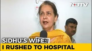 Navjot Sidhu's Wife, Guest At Punjab Event, Denies Leaving After Accident - NDTV
