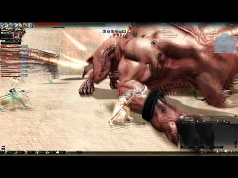 Vindictus - Ambition Guild Lionotus Kill without Break-Off