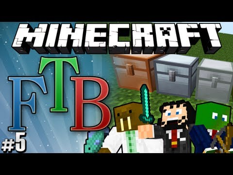 "Minecraft: Feed the Beast #5 ""Backpacks & Fancy Chests"""