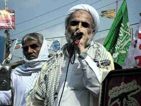 2010 youm al quds rally in matli by Asgharia Organization Pakistan 6