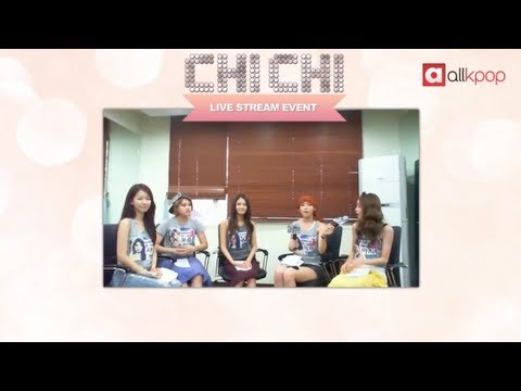 RELIVE IT: Exclusive CHI CHI Live Stream on allkpop!
