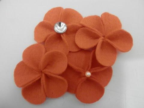 Flor de feltro 6