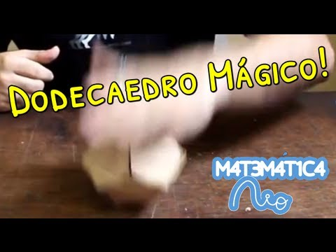 Dodecaedro Mágico / Magic Dodecahedron | Matemática Rio