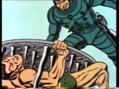 Namor il Sub-Mariner - il pianeta proibito parte01 Marvel Cartoon 1966