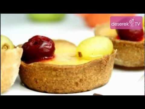 Tartaletki z owocami i galaretką - Deserek.TV