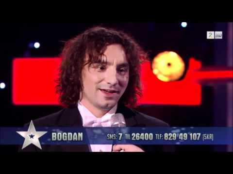 Bogdan Alin Ota - Norway`s Got Talent - Semi Final HD