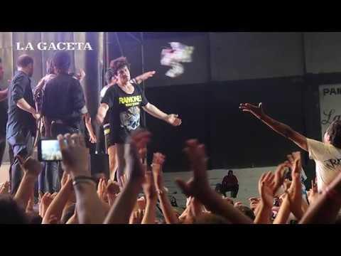Postales del show de Viejas Locas en Tucumán