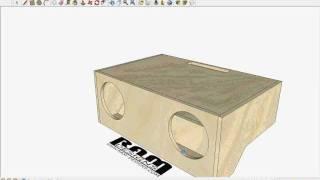 RAM Designs: JL W6V2 Box Design for Chevelle - YouTube