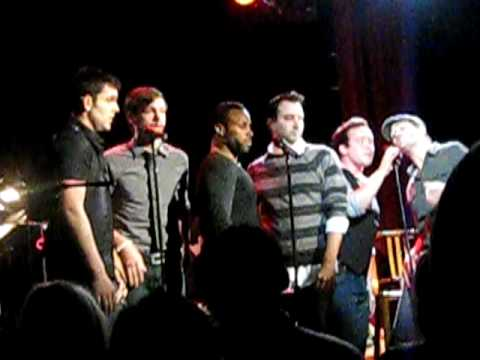 Broadway Boys sing Billie Jean/Smooth Criminal/Bad mashup