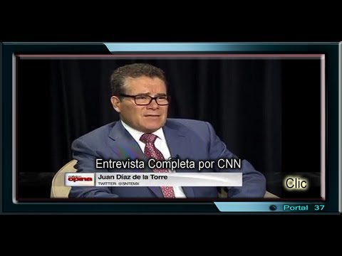 Entrevista del Profesor Juan Daz de la Torre en CNN