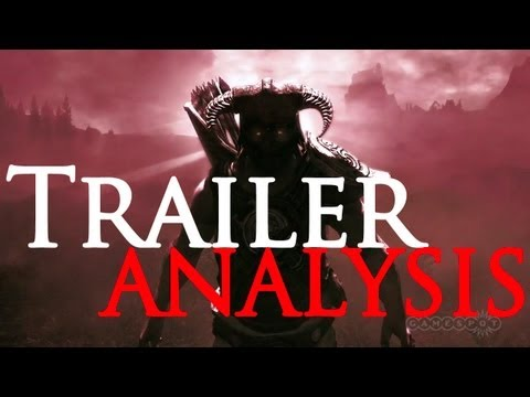 Skyrim Dawnguard Trailer Analysis