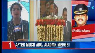 Tamil Nadu: O Panneerselvam takes charge as deputy chief minister of Tamil Nadu - NEWSXLIVE