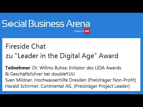 "#cebitsba 2014 | Fireside Chat zu ""Leader in the Digital Age"" Award"