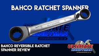 Bahco S4RM4T Reversible Ratchet Spanners Set