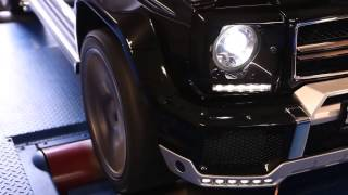 2014!!! Brabus Mercedes G Class AMG G63!!!очень чёткий внедорожник