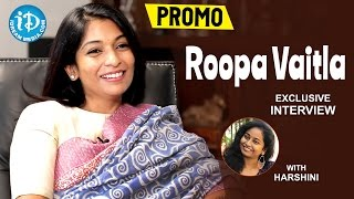 Stylish Roopa Vaitla Exclusive Interview PROMO || #Mister || Talking Movies With iDream - IDREAMMOVIES