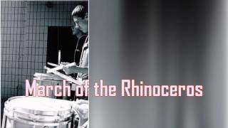 Royalty Free :March of the Rhinoceros