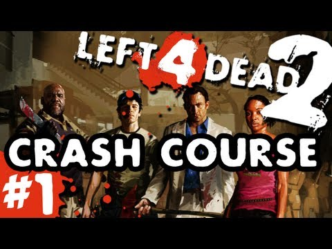 L4D2 zombies Crash Course Pt.1 with GUNNS and Bentley
