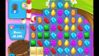 guide, tips, and cheats from Candy Crush Soda Saga Level 133 in video