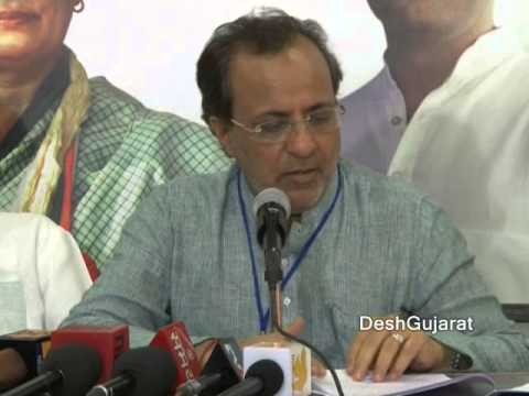 Gujarat Congress President briefs media on output of two days Chintan Shibir