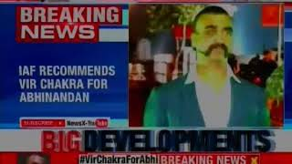 IAF recommends Vir Chakra for Wing Commander Abhinandan Varthaman - NEWSXLIVE
