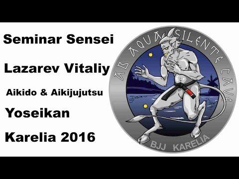 Demonstration 20: sensei Lazarev Vitaliy Aikido & Aikijujutsu Yoseikan Russia