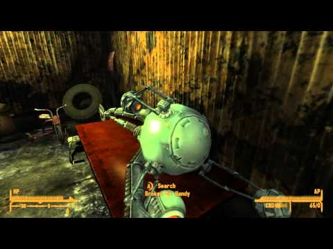 "Fallout New Vegas: Quest Guide ""Crazy, Crazy, Crazy"" Including Location of Ghoul Follower, Raul"