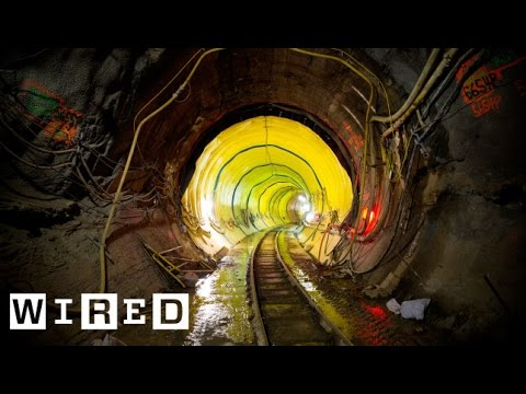 Wired's Engineering Series The Window - New York's East Side Access Project --NYC MTA Subway