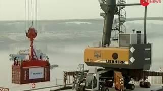 PM Modi inaugurates the first multi modal terminal constructed on River Ganga in Varanasi - ZEENEWS