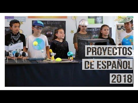 Proyectos de Español 2018