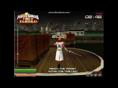 Games: Power Rangers Super Samurai (3D Game)