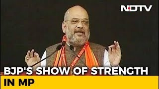 Amit Shah Attacks Rahul Gandhi At Bhopal Event - NDTVINDIA