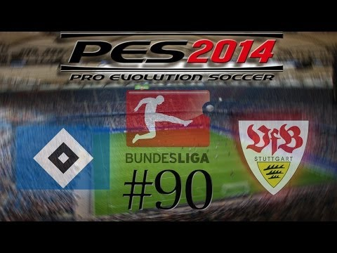 Let´s Play PES 2014 #90 Hamburger SV vs. VFB Stuttgart HD Bayrisch