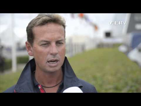 Ecco FEI European Championships 2013 Herning, Interview Carl Hester (GBR)