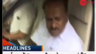 Karnataka: Kumaraswamy to face floor test today to prove majority - ZEENEWS