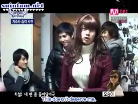 Heechul being a Girl...