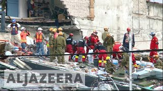 Mexico continues search for survivors after earthquake - ALJAZEERAENGLISH