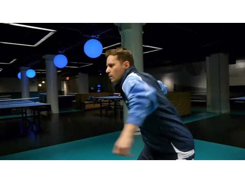Table Tennis Strokes: Forehand Push