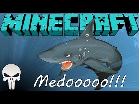 MINECRAFT: MO' Creatures =2-T= (15º) O caçador de Tubarão!!! #MEDO