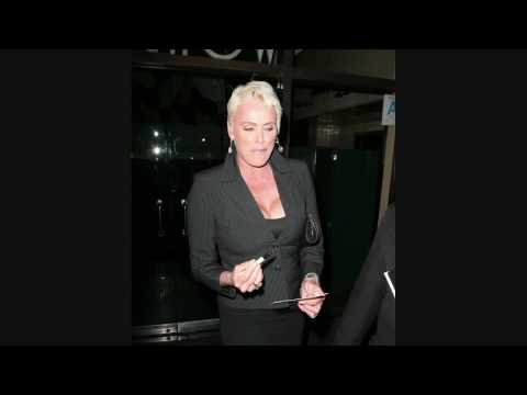 Brigitte Nielsen at Mr Chow - 030609 - PapaBrazzi Report