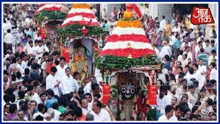 Gujarat में धूमधाम से निकली Jagannath Yatra | News 100 Nonstop - AAJTAKTV