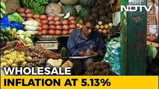 September Wholesale Inflation Rises To 5.13% Against 4.53% In August - NDTVPROFIT